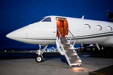 Gulfstream IV for charter